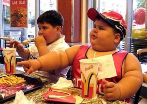To typiske kunder på McDonalds.