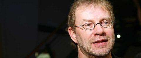Sjefredaktør Arne Blix i Adresseavisen.