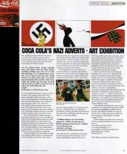Coca Cola nazi-reklame. Nazister var også tørste...