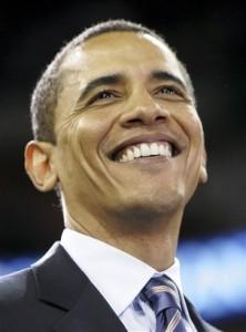 Barack Obama hadde stor suksess med grasrot-aksjoner for å skaffe penger til valgkampen.