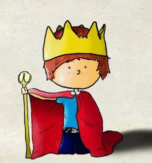 - Muttern har blitt grevinne, fattern er ridder og jeg småkonge.